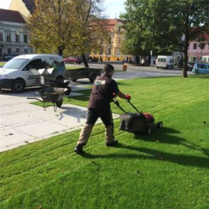 Travní koberce, Veřejná zeleň, Závlahové systémy - jplcz.com - Revitalizace parku