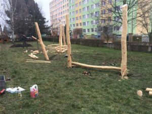 Sportoviště, Veřejná zeleň - jplcz.com - Zahrada pro mateřskou školku, Operační program ŽIVOTNÍ PROSTŘEDÍ
