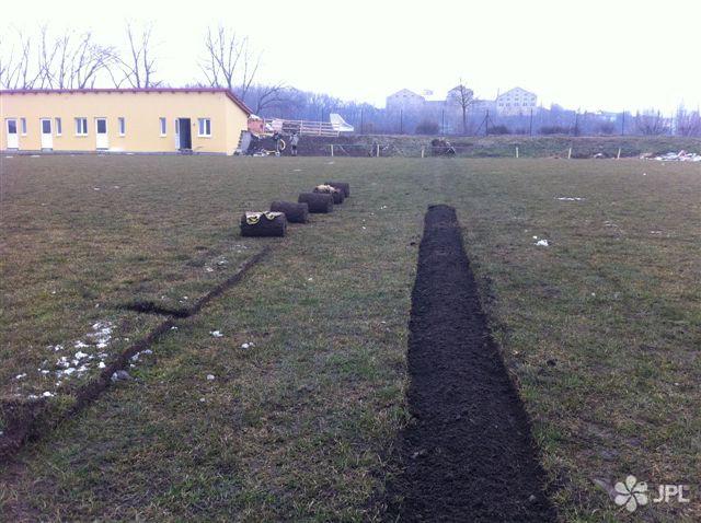 Sportoviště, Závlahové systémy - jplcz.com - Realizace závlahovém systému na fotbalovém hřišti