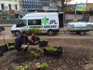 Veřejná zeleň - jplcz.com - Celková úprava terénu, navezení zemin a substrátů