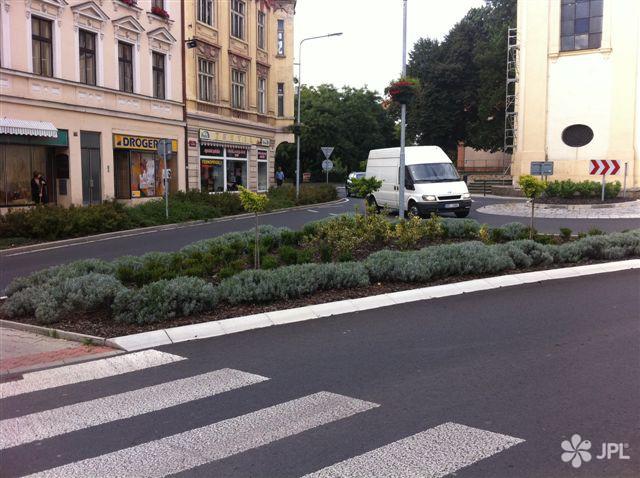 Veřejná zeleň - jplcz.com - Údržba kruhových objezdů