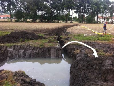 Veřejná zeleň - jplcz.com - Odvodnění mokřiny, revitalizace pole