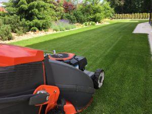 Regenerace trávníku Kladno - Velká Dobrá
