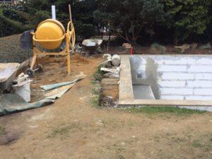 Zahrada na klíč, zděný bazén, závlahový systém