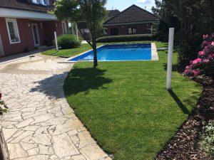 Údržba zahrad - sekání, hnojení, vertikutace, zalévání