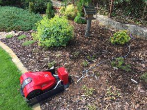 Robotická sekačka AMBROGIO - instalace na zahradu