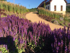 Údržba zahrady, Severní Čechy