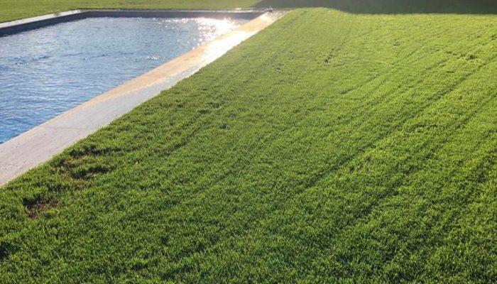 Realizace trávníku a závlahového systému Proboštov